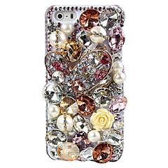 Joya colorida Cubierta trasera para el iPhone 5/5S