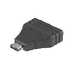 Combo eSATAp Power over eSATA USB 2.0 naar eSATA & USB Adapter splitter 1 in 2 nieuwe