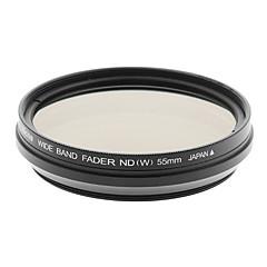 Nicna ND2 ~ ND400 premium Fader numérique Filtre ND (55mm)