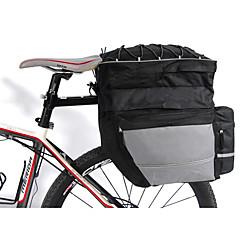 FJQXZ FahrradtascheFahrrad Kofferraum Tasche/Fahrradtasche Wasserdicht Rasche Trocknung tragbar Stoßfest 3 in 1 Tasche für das Rad Nylon