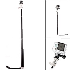 G-353 PANNOVO GoPro Camera 4 Section Retractable Handheld Pole Monopod for Gopro Hero 2 / 3 / 3+