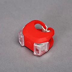 MOON 야외 1 쌍 순환 실리콘 레드 안전 라이트