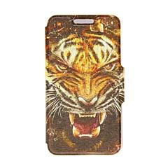 Motif Kinston tête de tigre cuir PU complet du corps avec support pour Samsung Galaxy S3 I9300