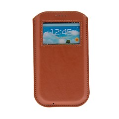 Kinston Universal Luxe Skylight Style PU Leather Full Body Case voor Samsung S3 I9300/S4 I9500