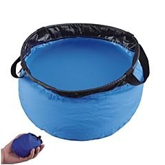 Outdoor Sports Taitettava Nylon Pesuallas-Blue (10L)
