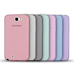 Angibabe Jelly Transparent TPU Soft Back Case for Samsung Galaxy NOTE 2/ N7100