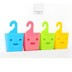Plastic Hooked Storage Box(Assorted Color)