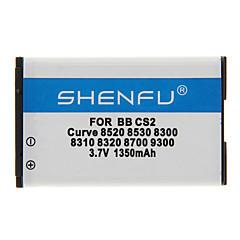 Shenfu 1350mAh batteria del cellulare per Blackberry CS2 Curve 8520 8530 8300 8310 8320 8700 9300