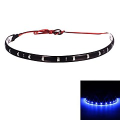Merdia 2.5W 40LM 15x3528SMD LED  Blue Car Decoration Lights -30CM (12V /1 PCS)
