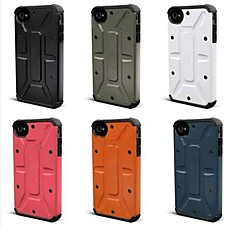 Composite Hybrid Case for iPhone 4/4S (Assorted Colors)