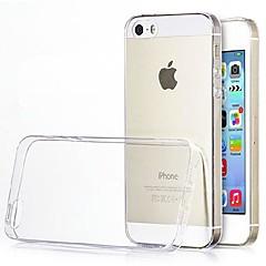 애플 아이폰 5/5S를위한 매우 얇은 0.3mm의 TPU 소프트 케이스 (분류 된 색깔)