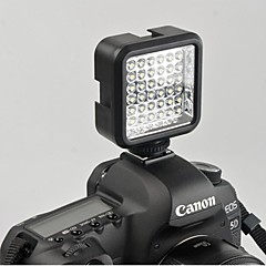 wansen 36 LED Video Light Lamp 4W 160LM for Nikon Canon DV Camcorder Camera with Charger