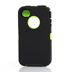 Shock Proof Case Built in Screen Protector Full Body for iPhone 4/4S
