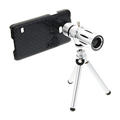 Zoom 12Χ Telephoto Metal Κινητό τηλέφωνο Φακός με Τρίποδο για Samsung S5