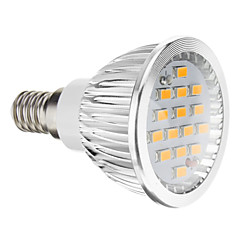 6W E14 / GU10 / GU5.3(MR16) / E26/E27 Spot LED 15 SMD 5730 380 lm Blanc Chaud / Blanc Froid AC 100-240 V
