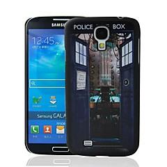 Doctor Teema Who Pattern muovi kova suojakotelo Samsung Galaxy S4 i9500