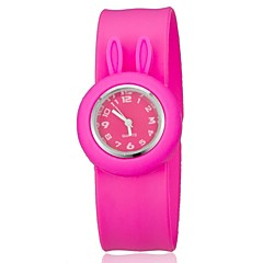 Para niños de colores Bendable banda de silicona Slap Watch