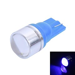 T10 1W 120lm 470nm 1-Condenser Lens LED Color Car Instrument Lamps (DC12V, 1Pcs)