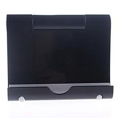 soporte de plástico para ipad 2 mini-aire del ipad 3 del ipad 2 del ipad Mini iPad mini aire ipad 4/3/2/1 (negro)