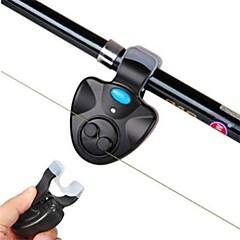 Fiskelarm Fiskespö LED-lampa Universell LED alarm Clip-on Bärbar Hållbar Strömsparfunktion Elekronisk Ljudaktiverat Enkel att sätta på