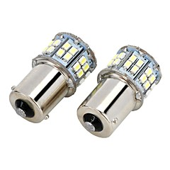 Marsing 1156 9W 800lm 6500K 50-SMD LED 7000K Cool φως White Light Car Brake ομίχλης - (2 τεμ)
