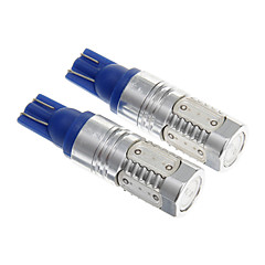 T10 15W Weißlicht LED-Lampe für Auto-Restposten (10-30V, 2 Stück)