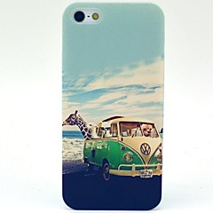 Giraffe Dyr Reise mønster hard plast sak for iPhone 5 / 5S