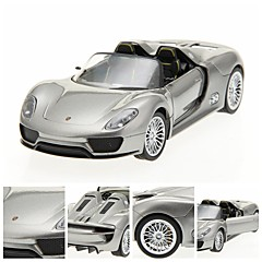 1/24 DIE-CAST PORSCHE 918 Licensed Alloy RTR RC bil med LED-lampor