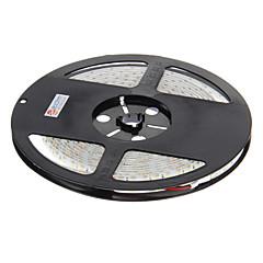 z®zdm vedenpitävä 5m 48w 600x3528 SMD viileä valkoinen valo johti kaistale lamppu (DC 12V)
