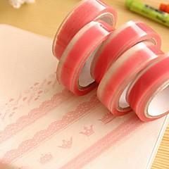 Pink Lace Pattern Tape(Random Color)