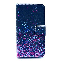 Starry Sky Design PU Full Body Case with Card Slot for iPhone 4/4S