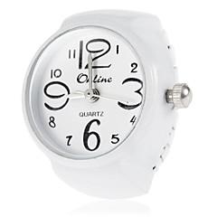 Dames Modieus horloge Kwarts Band Wit / Paars Merk-