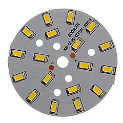 9W 800-850LMウォームホワイトライト5730SMD内蔵LEDモジュール(27-30V)