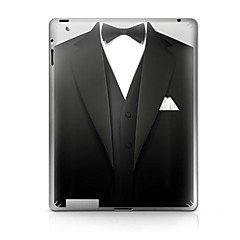 A Suit Pattern Protective Sticker for iPad 1/2/3/4