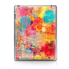 Cor Padrão Círculo Etiqueta protetora para iPad 1/2/3/4