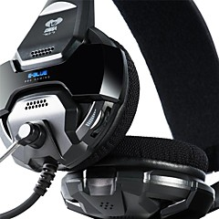 E-3lue Cobra 707 Blue Light Over-Ear Headset Profesional Gaming con micrófono para PC