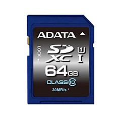 ADATA 64GB SD Kort hukommelseskort UHS-I U1 Class10