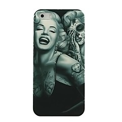 Mark Marilyn Monroe Pattern Hard Case for iPhone5/5S