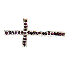 Rhinestone Cross DIY Charms Pendants for Bracelet & Necklace