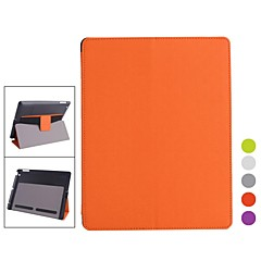 Multi Sleep Cooling PU Leather Full Body Case with Stand for iPad 2/3/4 (Assorted Colors)