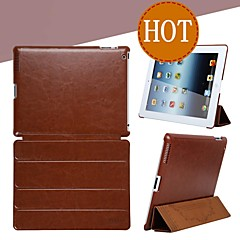 Simple and Stylish Series Smart Leather Case with Stand and Auto Sleep/Wake Up for iPad2 3 4(Assorted Color)
