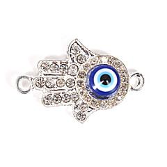 Alloy Hand Eye DIY Charms Pendants for Bracelet & Necklace