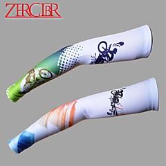팔 따뜻하게 자전거 통기성 빠른 드라이 자외선 방지 선크림 남녀 공용 그린 레드
