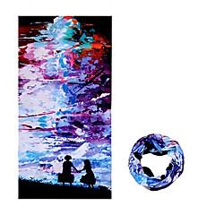 Women's / Men's / Unisex Sport Bandana / Neck Gaiters / Neckwarmers Ultraviolet Resistant / Windproof / Wearable / Breathable Black / Blue