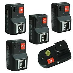 WanSen PT-PT-04 04GY 4 canaux sans fil / Radio déclencheur flash avec 4 récepteurs livraison gratuite + Numéro de suivi