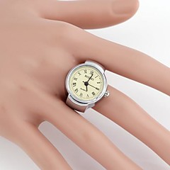 Mulheres Relógio de Moda Quartz Lega Banda Prata marca-