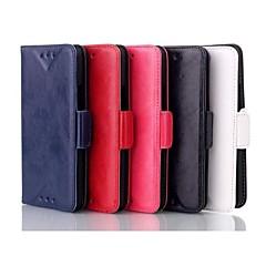 HTC 하나 M7 (분류 된 색깔)를위한 호화스러운 패턴 오일 피부 지갑 가죽 상자