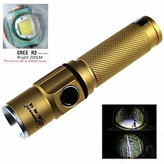 ZHISHUNJIA Mini Cree XP-E R2 6500K 200lm 3-Mode White Light lampe de poche