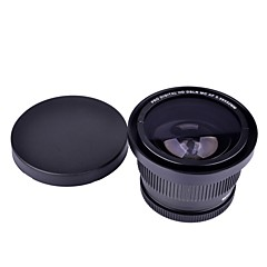 52mm 0.35x Super Fisheye Wide Angle Lens for Cannon Nikon Sony Fuji kameraer