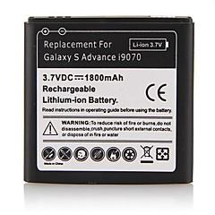 삼성 i9070를위한 1800MAH 리튬 이온 배터리